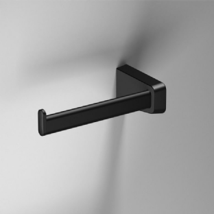 Sonia S6 Black Open Toilet Roll Holder Left - 166480